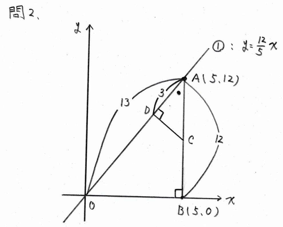 北海道公立高校入試数学2019(解答・解説)